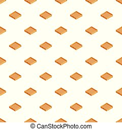 Cap box pattern seamless vector