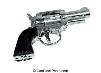 Cap Gun - Isolated Toy Cap Gun