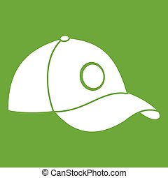 Cap icon green