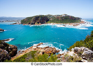 cap, knysna, afrique, occidental, sud
