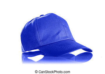 Cap on a white background