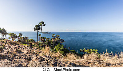 cap, phromthep, (phromthep, point vue, viewpoint), laem, ...