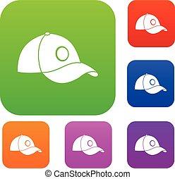 Cap set color collection
