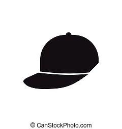 cap sport fashion element pictogram