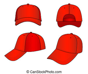 Cap - Vector cap isolated on white background