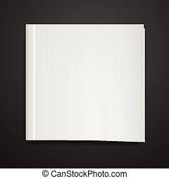 capa livro, em branco
