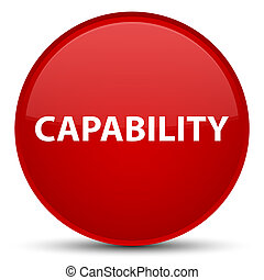 Capability special red round button