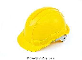 capacete, construção, segurança