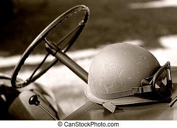 capacete, exército