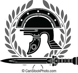 capacete, romana