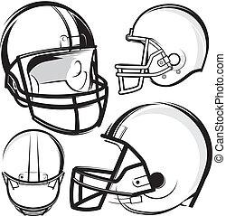 capacetes futebol americano