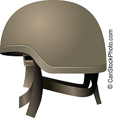 capacetes, modernos, combate
