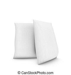 Capacity billet on white background