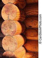 capanna di tronchi