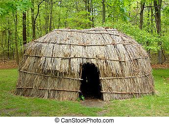capanna, indiano