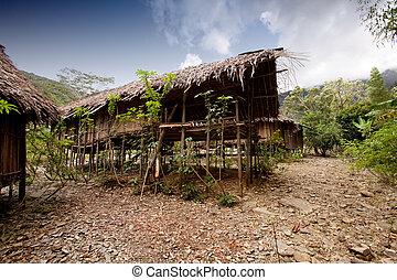 capanna, villaggio