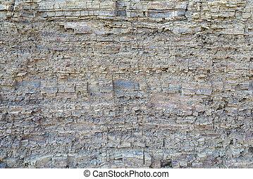capas, metamórfico, textura, rocas