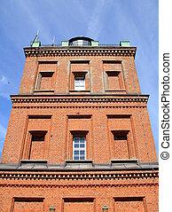 Cape Arkona lighthouse tower on the island Ruegen. Germany