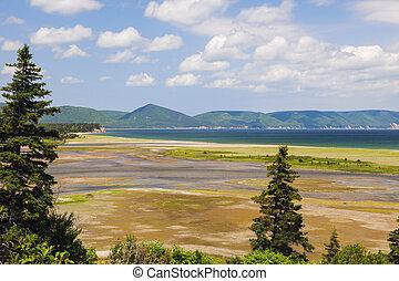 Cape Breton Highlands National Park in Nova Scotia