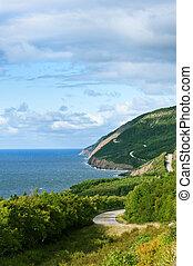 cape breton, tierras altas, parque nacional