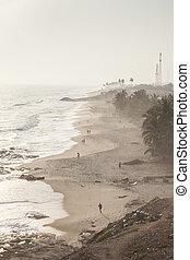Cape Coast Beach, Ghana, West Africa