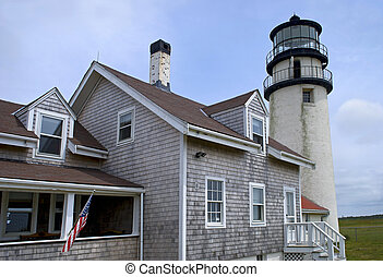 Cape Cod Highland Light - A Summer view of the Highland...