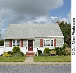 Cape Cod Style Suburban Home