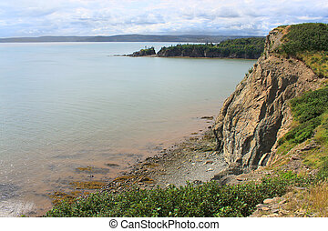 Cape Enrage, New Brunswick, Canada - Dramatic cliifs of Cape...
