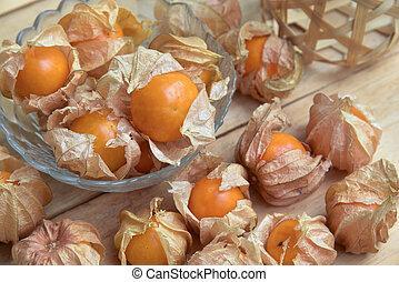 Cape gooseberry fruit