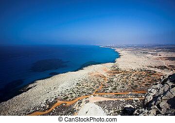 Cape Greco or Cavo Greco, Agia Napa, Cyprus