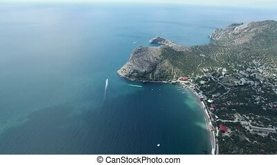 Cape Kapchik in Crimea
