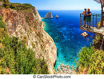 Cape Keri cliffs