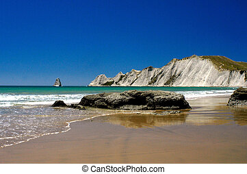 Cape Kidnappers New Zealand - Cape Kidnappers. New Zealand, ...