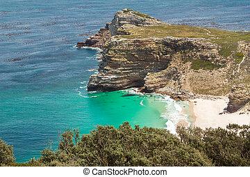 Cape of Good Hope. Cape Peninsula Atlantic ocean. Cape Town....