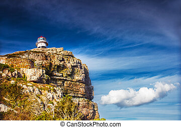 Cape of Good Hope, lighthouse on the south -western point of...
