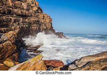 Cape of Good Hope - south-western point of Africa - Cape of...