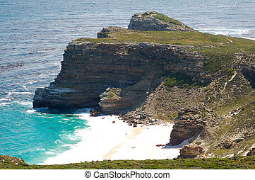 Cape of Good Hope, famous because of the Portuguese trips in...