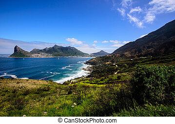 A landscape of the Cape Peninsula, South Africa