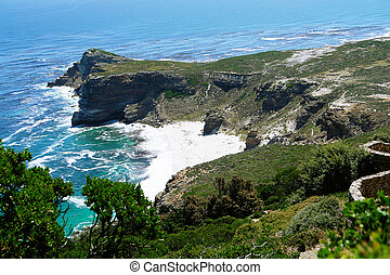 Cape point rocks. South Africa
