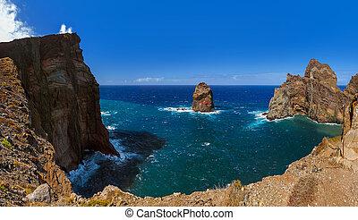Cape Ponta de Sao Lourenco - Madeira Portugal - Cape Ponta ...