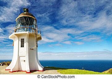 Cape Reinga Lighthouse, New Zealand - Cape Reinga Lighthouse...