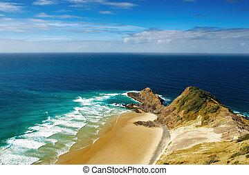Cape Reinga, north edge of New Zealand