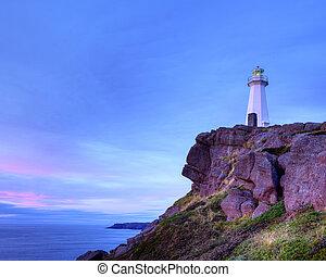 Cape Spear lighthouse, Newfoundland, Canada.