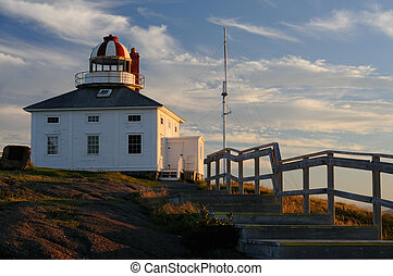 Cape Spear Lighthouse The Most Easterly Point In North...