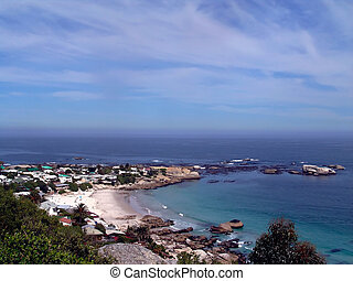 Atlantic ocean landscape ,Cape Town, South Africa,