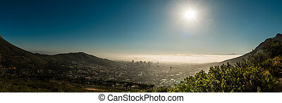 Cape Town, South Africa (view from table mountain)