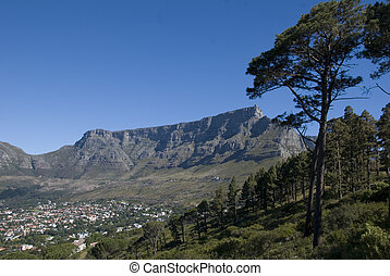 cape town, table mountain