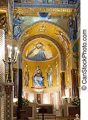 Capella Palantina in Palazzo Reale - interior of Capella...