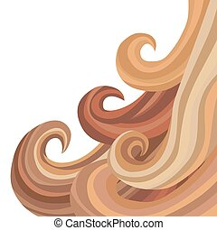 capelli, fluente