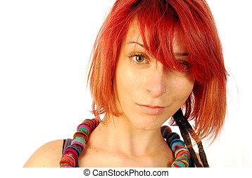 capelli, rosso